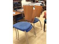 Cafe stacking chairs