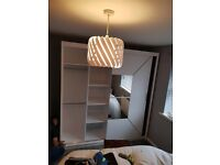 🤩WARDROBE- Brand New Mirror Sliding Door NICOLE Wardrobes Available-Quick Delivery-1 Year Warranty