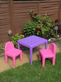 ELC table and chair sets