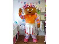 Upsy Daisy Mascot, perfect condition, Massive Mascot