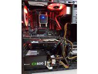 Medium End Gaming PC (Build - £740) (Asking - £600)