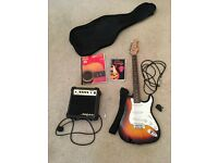ARIA STG-003 ELECTRIC GUITAR Package, Sunburst