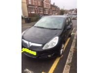 Black Vauxhall Corsa 2010 1.2ltr 41,000 miles for Sale £3,595 ONO!!