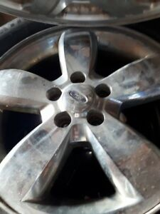 4 Michelin 225/65R17 on 5 bolt ford rims