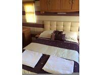 2 bedroom caravan to rent beautiful inside, decking