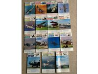 AIRCRAFT ILLUSTRATED EXTRA - ISSUE 1 THROUGH 13, PLUS ISSUE 15 AND 16