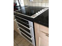 Electric Diplomat Oven and Hob with Set of Pots & Sauce Pans