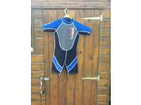 Unisex Child's Shortie Wetsuit