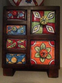 Mini Wooden Drawers