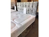 New Glitz Divan Bed start from only £169 Complete. FREE local delivery in Hartlepool