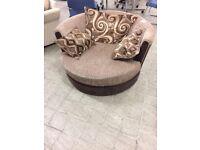 swivel/cuddle chair
