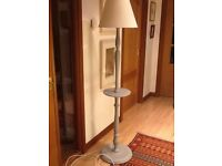 Vintage Standard Lamp with shelf