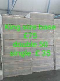 DOUBLE DIVAN BASE ONLY FREE LOCAL DELIVERY