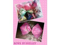 BESPOKE BOUTIQUE HAIR BOWS(jojo size&shape)