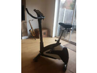 CardioStrong BX30 Upright exercise bike.