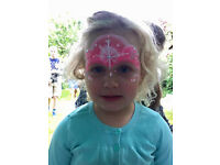 From £60 ph - NW LONDON Face Painting , Ballon modelling, Glitter Tattoo - Professional Face Painter