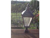Decorative very large Garden Lantern---- in aluminium-- rustproof