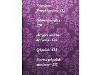 Appointments Available With Infinity Nails And Beauty