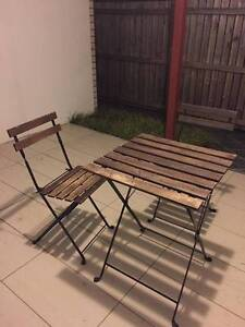 Used Ikea Outdoor Table and Chair furniture set $15 Sunnybank Brisbane South West Preview