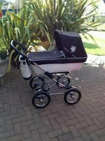 Silvercross pram and car seat