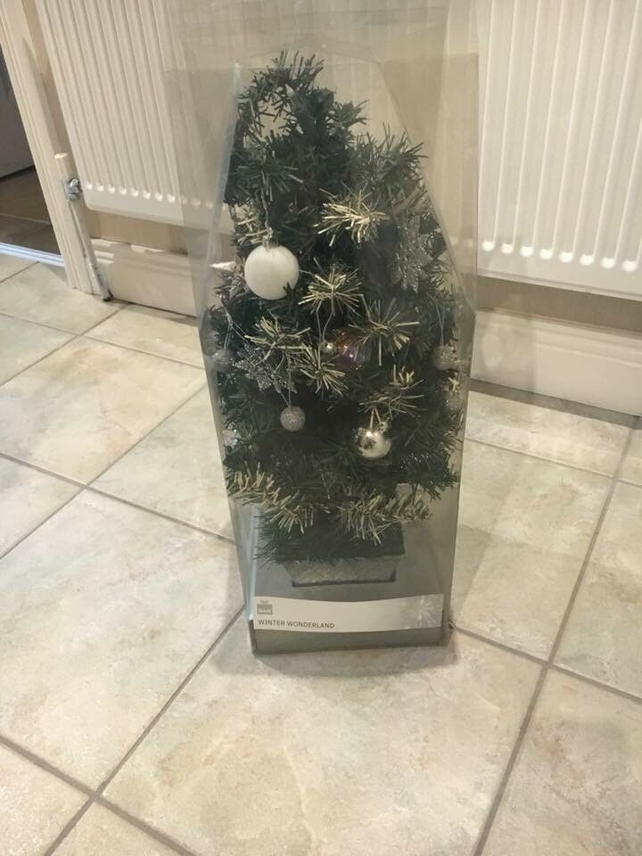 small pre decorated christmas tree ballymoney - Small Pre Decorated Christmas Trees