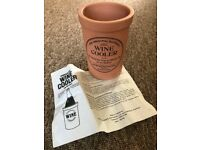 Henry Watson Pottery Original Suffolk Terracotta Wine Cooler, With instructions,