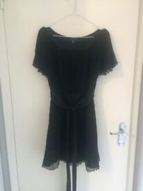 Black Ted Baker dress size 2