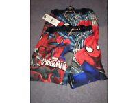 x2 new pairs of spiderman shorts