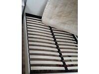 5' Double bed, 2 years old