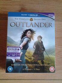 Outlander Blu Ray dvd
