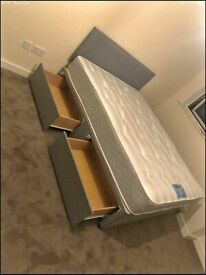 ⭐🆕BRAND NEW SINGLE/DOUBLE/KINGSIZE DIVAN BED BASES ON SALE, CHOICE OF MATTRESSES AVAILABLE NOW!