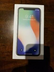 iPhone X 64GB CANADIAN MODELS NEW CONDITION WITH ACCESSORIES 90 DAYS WARRANTY INCLUDED