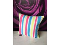 New Mineral Stripe Indoor/Outdoor Cushion