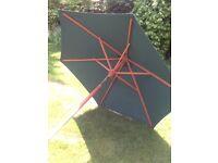 6.5ft Green Market Umbrella