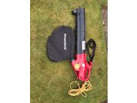 Mountfield leaf blower/vacuum