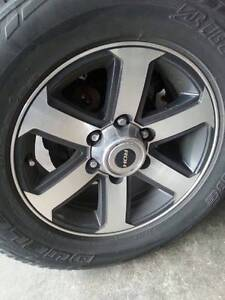 Alloy wheels 4wd 17 inch Blackwood Mitcham Area Preview