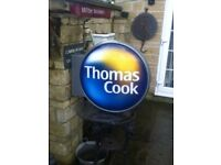 Thomas Cook shop sign