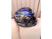 Shoei raid 2 helmet size L 59/60 cm