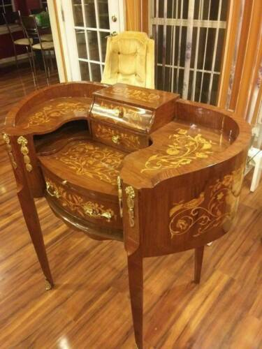 Beautiful French Secretary Desk CHARLOTTE NC PICKUP ONLY Antique Vintage