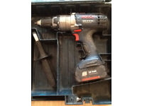 Bosch 18 volt hammer drill spares or repairs
