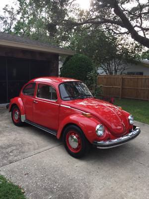 1974 Volkswagen Beetle - Classic  1974 VW Super Beetle