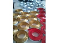 Aluminium tapes to 3D Signs