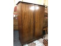 Stag Minstral triple wardrobe Copley Mill Low Cost Moves 2nd Hand Furniture STALYBRIDGE SK15 3DN