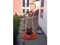 FLYMO GL Petrol Lawnmower 2 stroke works great can be seen working cb5 £55