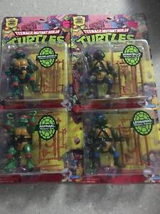 25th Anniversary TMNT Figure Collection *Still Packaged* Wellard Kwinana Area Preview