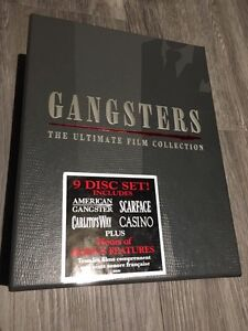 Gangsters The Ultimate Film Collection box
