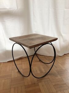 Chic Wooden Stool in Excellent condition