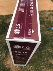 "43"" LG UHD Smart TV - Brand New - Unboxed"