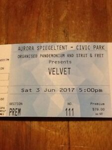 Velvet at the Speigletent, Civic Park, Newcastle Charlestown Lake Macquarie Area Preview