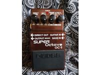 Boss OC3 octave pedal for bass and guitar